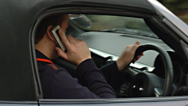 Car Crash Caught On Cell Phone